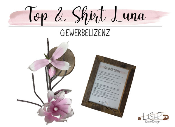 "Gewerbelizenz Top & Shirt ""Luna"" [Digital]"